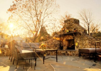 Tulsa Landscaping - Outdoor Fireplaces